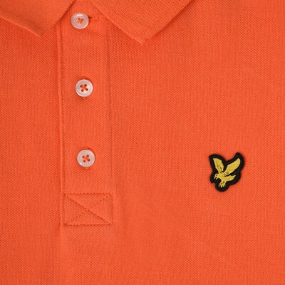 Lyle & Scott Classic Polohemd, Tigerlilly