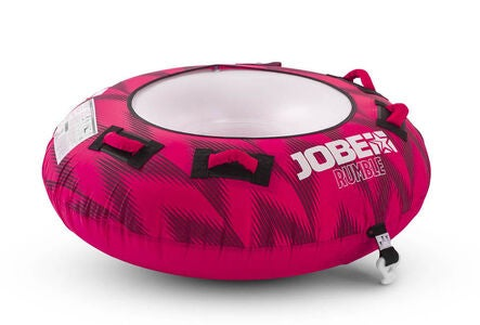 JOBE Rumble Towable Funtube Wasserreifen 1 Person Rosa