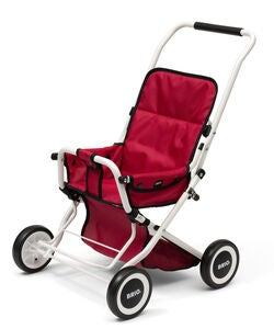 BRIO 24905000 Sitty Puppen-Buggy, Rot