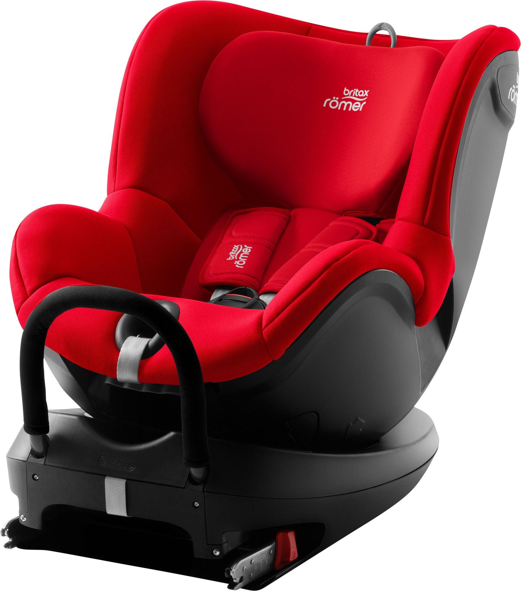 Britax DualFix² R wendbarer Kindersitz, Fire Red