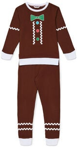 Luca & Lola Pullover & Hose Gingerbread, Brown