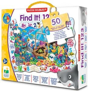 The Learning Journey Puzzle Doubles Find It 123