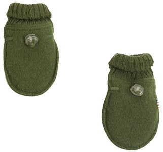 Joha Fäustlinge Wollfleece, Bottle Green