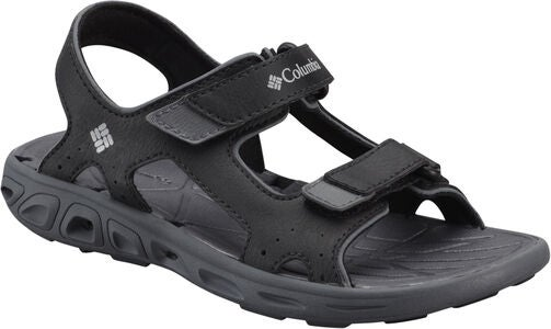 Columbia Children's Techsun Sandalen, Black/Grey