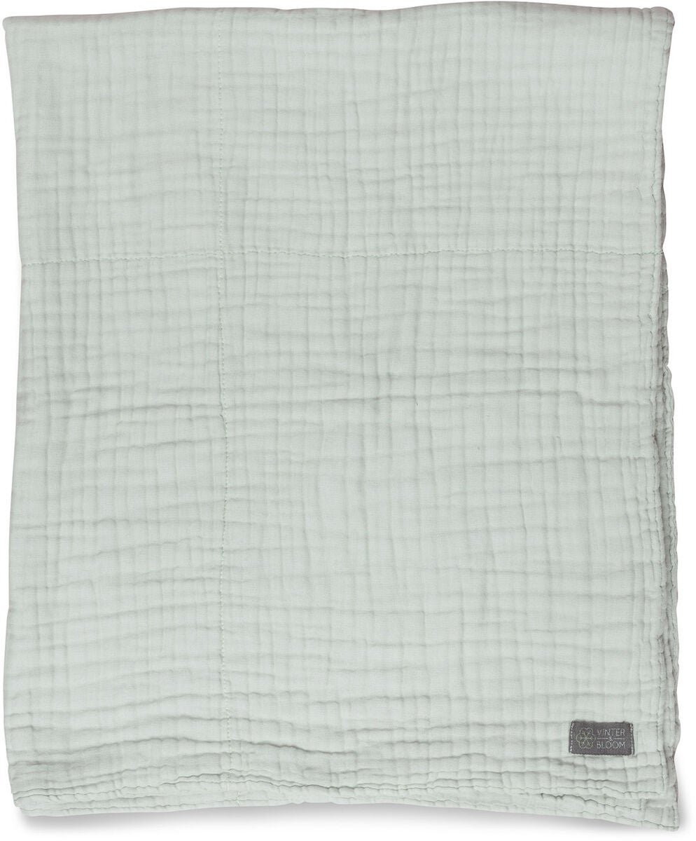 Vinter & Bloom Decke EKO, Sage Green