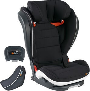 BeSafe iZi Flex Fix i-Size Kindersitz, Black Cab