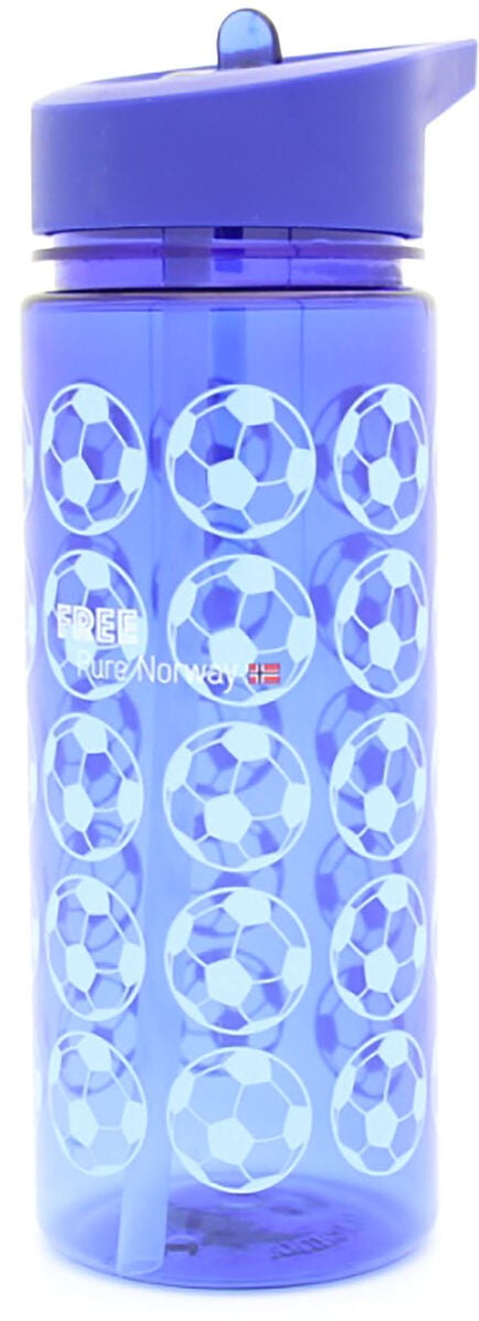 Pure Norway Free Football Flasche, Blau