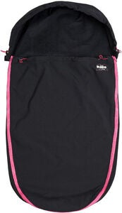 The Buppa Brand Softshell Fußsack, All Black Pink