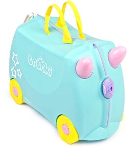 Trunki Una the Unicorn Koffer 18L, Turquoise