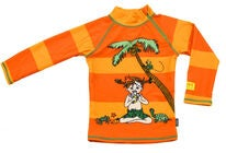 Swimpy Pippi UV-Shirt LSF 50+, Orange