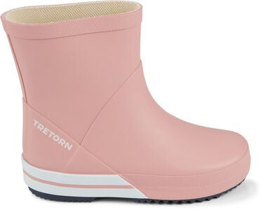 Tretorn Basic Mid Gummistiefel, Light Rose/Navy
