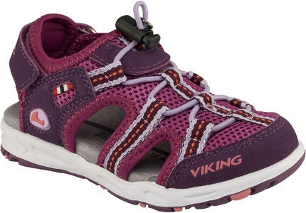 Viking Thrill Sandale, Plum/Dark Pink