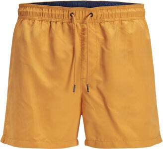 Jack & Jones Sunset Badeshorts, Flame Orange