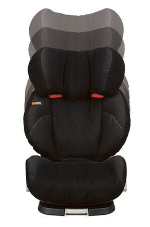 BeSafe iZi Up X3 Kindersitz, Black Cab Schwarz