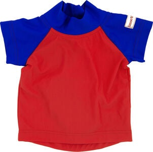 ImseVimse UV T-Shirt, Red/Blue
