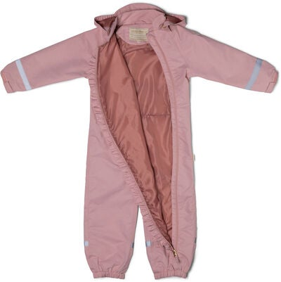 Petite Chérie Atelier Lily Softshell-Overall, Silver Pink