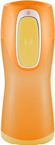 Contigo Kleckerfreier Becher 300 ml, Orange/Gul