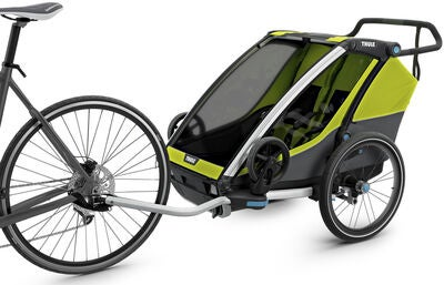 Thule Chariot Cab2, Chartreuse/Dark Shadow