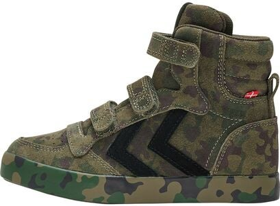 Hummel Stadil Camo Jr Sneakers, Camouflage