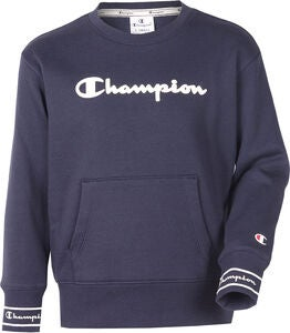 Champion Kids Crewneck Pullover, Sky Captain