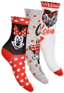 Disney Minnie Maus Socke 3er-Pack,