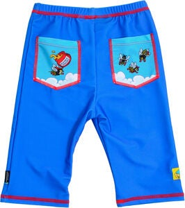 Swimpy Bamse & Snurre UV-Shorts UPF 50+, Blau