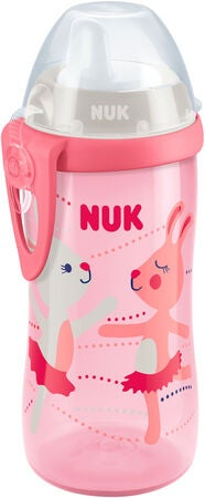 NUK Kiddy Cup 300 ml Hase, Rosa