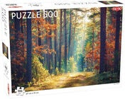 Tactic Puzzle Herbst Im Wald 500 Teile