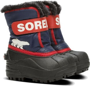 Sorel Children's Snow Commander Winterstiefel, Nocturnal/Sail Red