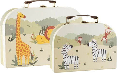 Sass & Belle Savannah Safari Pappkoffer 2er-Pack