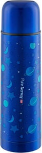 Pure Norway Go Edelstahlthermos Univers 500ml, Metallic
