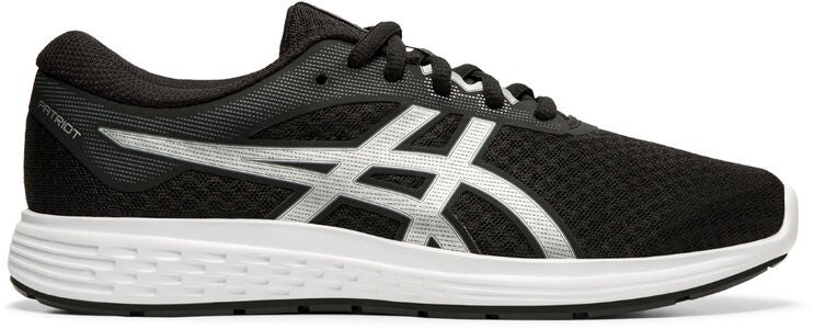 Asics Patriot 11 GS Sneaker, Black/Silver