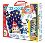The Learning Journey Puzzle Long And Tall 123 Rocket Ship