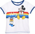 Disney Micky Maus T-Shirt, White