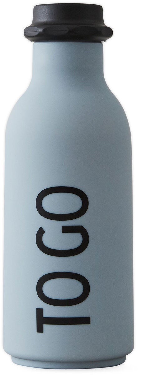 Design Letters To Go Trinkflasche, Grau