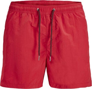 Jack & Jones Sunset Badeshorts, Mars Red