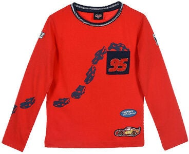 Disney Cars T-Shirt, Rot