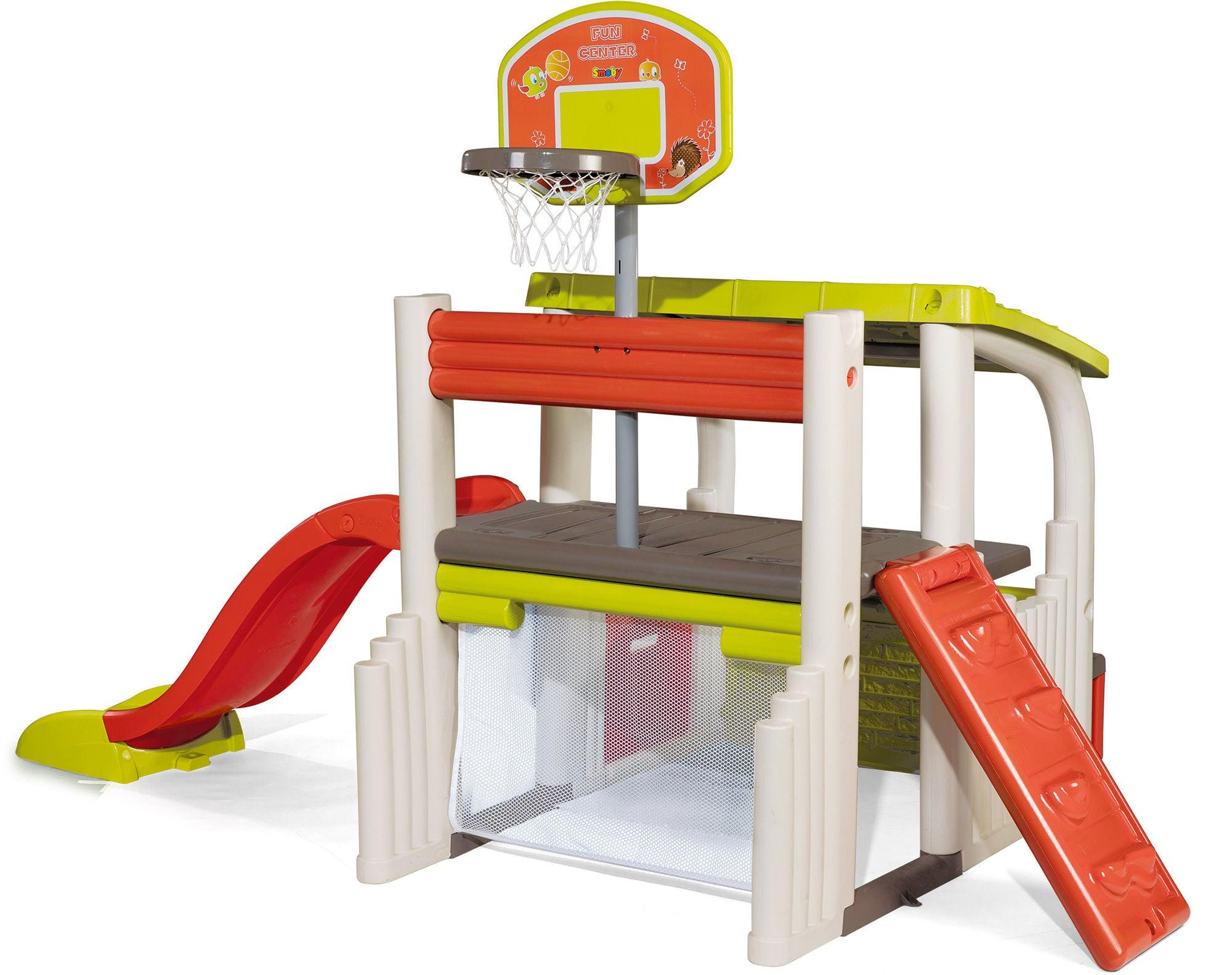 Smoby Spielhaus und Sportcenter