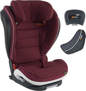 BeSafe iZi Flex Fix i-Size Kindersitz, Burgundy