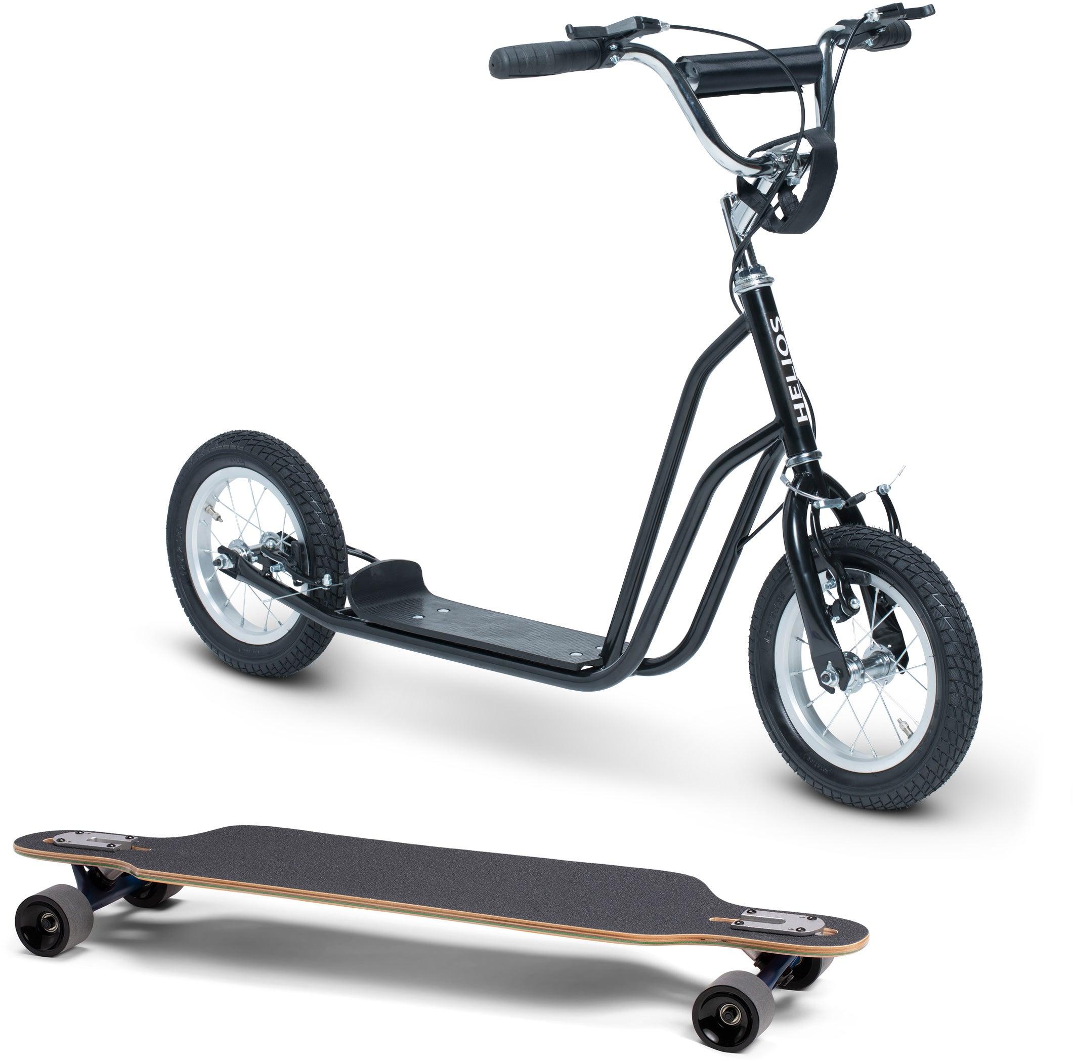 Pinepeak Longboard und Scooter