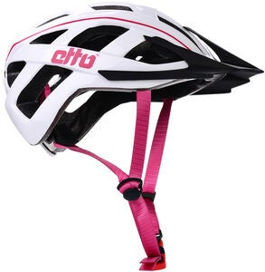 Etto Champery Jr MIPS Fahrradhelm, White/Pink