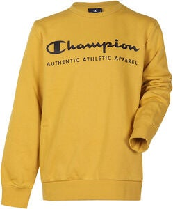 Champion Kids Crewneck Pullover, Lemon Curry