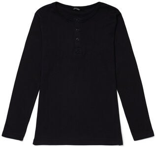 Luca & Lola Jacopo Langärmliges T-Shirt, Black