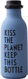 Design Letters To Go Wasserflasche Special Edition, Blue