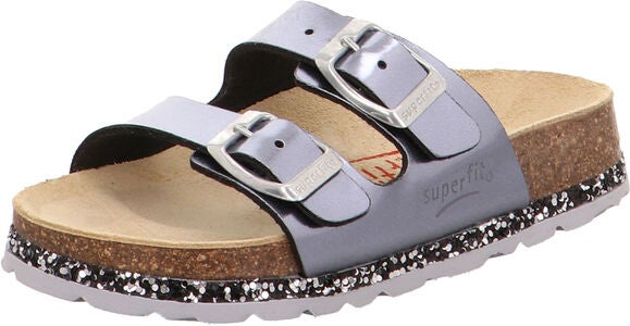 Superfit Fussbett Sandalen, Light Grey