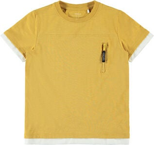 Name it Olvis T-Shirt, Amber Gold