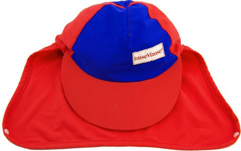 ImseVimse Sonnenhut, Red/Blue