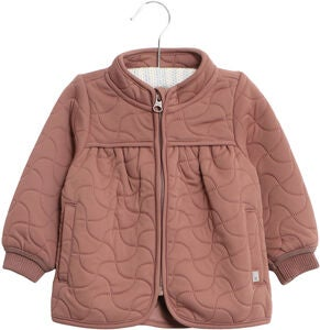 Wheat Thilde Thermojacke, Dusty Rouge