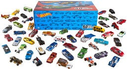 Hot Wheels Auto 50-er Pack