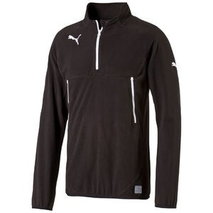 Puma Team Training Fleece, Schwarz